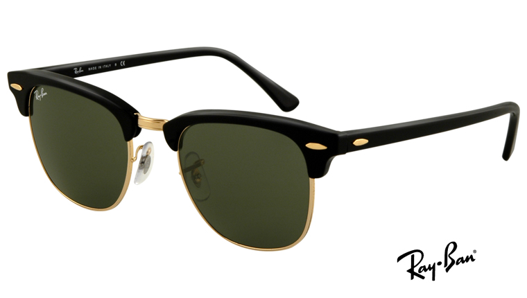 clubmaster ray ban sizes  Lenssavers - Solglas枚gon - Ray-Ban